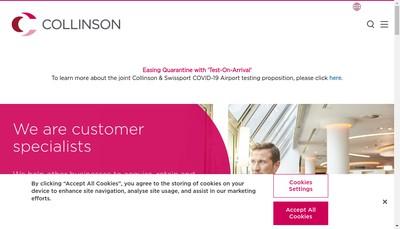 Site internet de Collinson