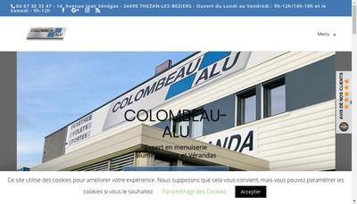 Site internet de Colombeau Alu