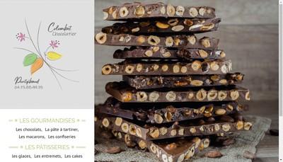 Site internet de Patisserie Chocolaterie Colombet