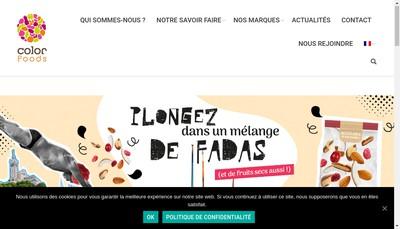 Site internet de Color