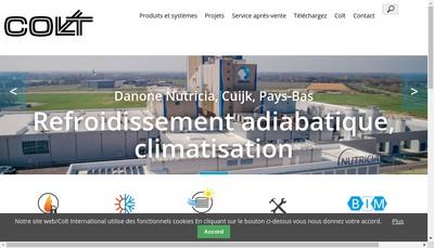 Site internet de Colt France
