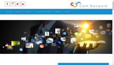 Site internet de Com Network