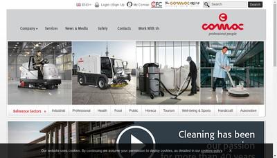 Site internet de Comac France