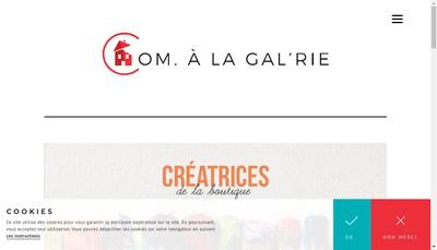 Site internet de Com a la Gal'Rie