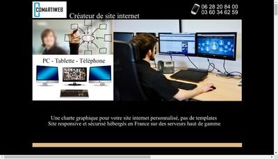 Site internet de Comartiweb