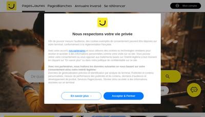 Site internet de Groupe Comas