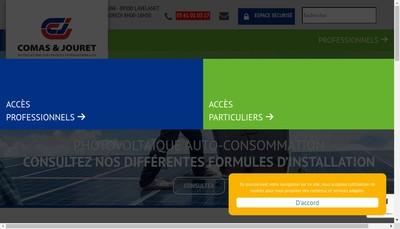 Site internet de Comas & Jouret