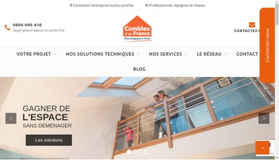 Site internet de Combles