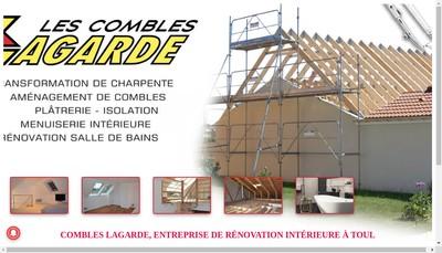 Site internet de Les Combles Lagarde
