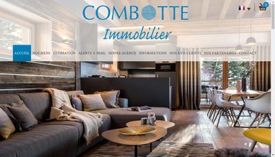 Site internet de Combotte Immobilier