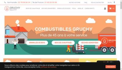 Site internet de Les Entrepots Modernes