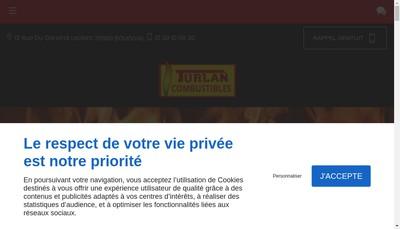 Site internet de Combustibles Turlan SARL