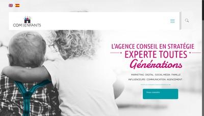 Site internet de Com'des Enfants