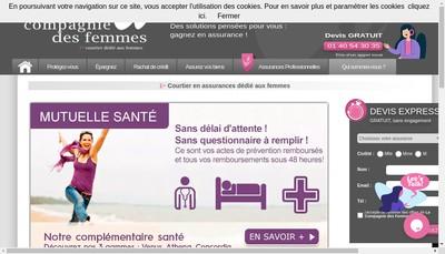 Site internet de Fas Femmes Assurances Services