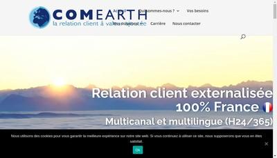 Site internet de Comearth