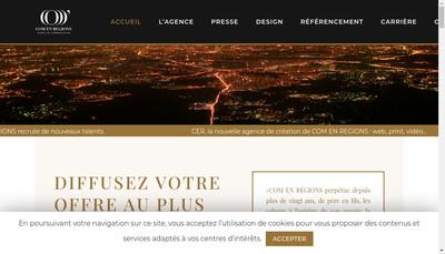 Site internet de Com' en Regions