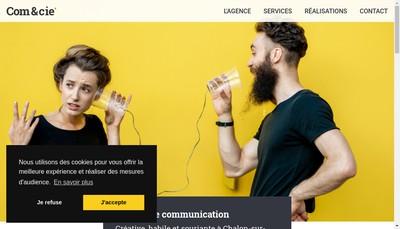 Site internet de Com et Cie