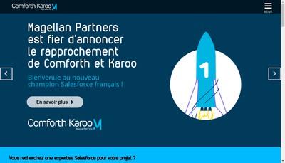 Site internet de Comforth Karoo