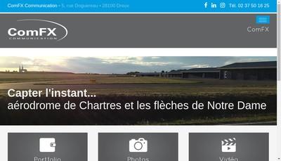 Site internet de Comfx - Zesiteweb