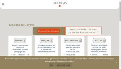 Site internet de Comitys