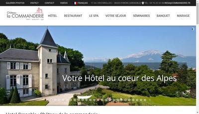 Site internet de Chateau de la Commanderie
