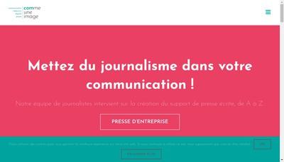 Site internet de Sextius Conseils