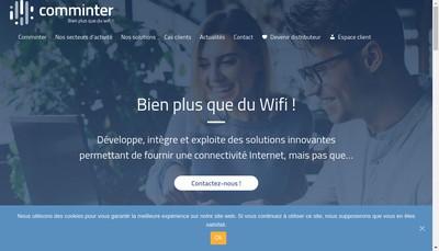Site internet de Communication Interactive