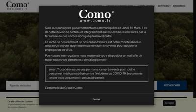 Site internet de Como 93