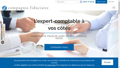 Site internet de Fiduciaire Saint Joseph