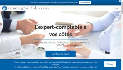 Site internet de Compagnie Fiduciaire Audit