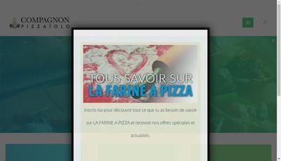 Site internet de Compagnon-Pizzaiolo