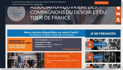 Site internet de Les Compagnons