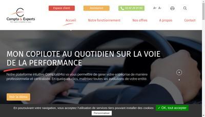 Site internet de Compta & Experts