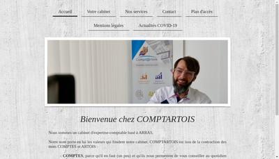 Site internet de Comptartois