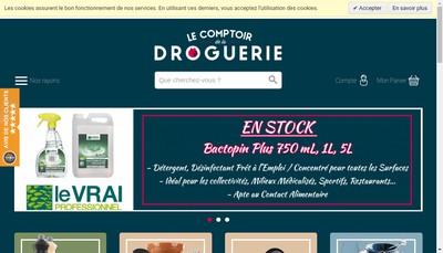 Site internet de Droguerie Limousine