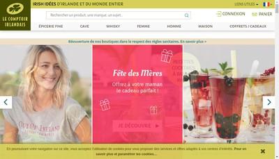 Site internet de Le Comptoir Irlandais