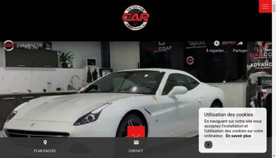 Site internet de C-a-R Comptoir Automobile du Reflet