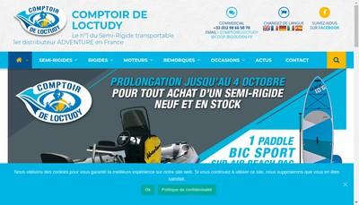 Site internet de SNC Comptoir de Loctudy