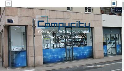 Site internet de Compucity