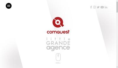 Site internet de Comquest Sud Ouest