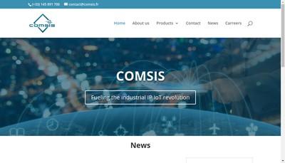 Site internet de Comsis