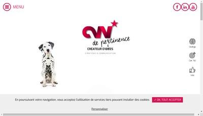 Site internet de Comwell
