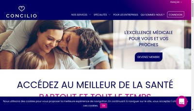 Site internet de The Information Company