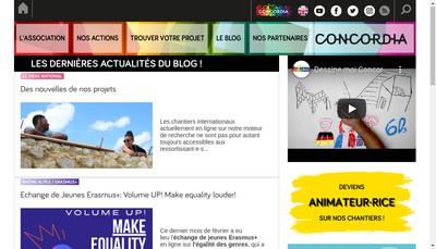 Site internet de Concordia Nw
