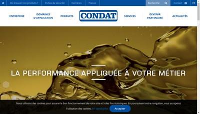Site internet de Condat