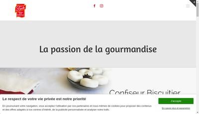 Site internet de Confiserie du Tech SA