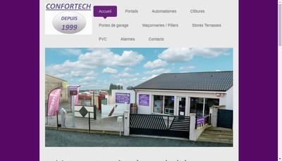 Site internet de Confortech