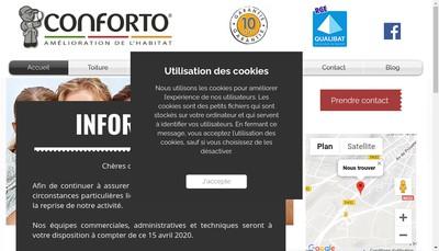 Site internet de Conforto