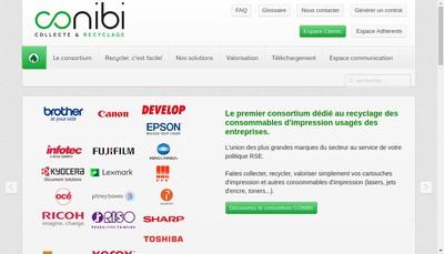 Site internet de Conibi