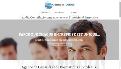 Site internet de Connect Office